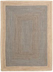 Frida Frame - Gris/Natural Tapis 160X230 Moderne Tissé À La Main Gris Clair/Beige ( Inde)