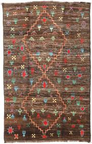 Moroccan Berber - Afghanistan Tapis 190X304 Moderne Fait Main Marron/Marron Foncé (Laine, Afghanistan)