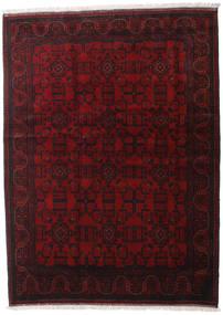 Afghan Khal Mohammadi Tapis 176X238 D'orient Fait Main Marron Foncé/Rouge Foncé (Laine, Afghanistan)