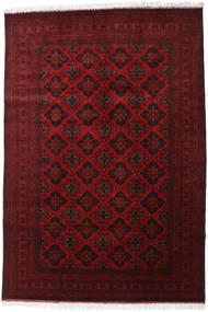Afghan Khal Mohammadi Tapis 200X293 D'orient Fait Main Rouge Foncé/Rouge (Laine, Afghanistan)