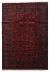 Afghan Khal Mohammadi Tapis 204X293 D'orient Fait Main Marron Foncé/Rouge Foncé (Laine, Afghanistan)