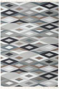 Zimba - Gris Tapis 200X300 Moderne Tissé À La Main Gris Clair/Blanc/Crème (Laine, Inde)