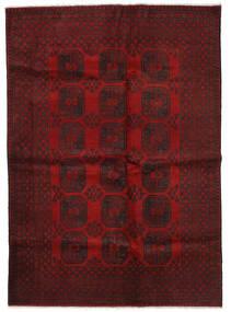 Afghan Tapis 202X285 D'orient Fait Main Rouge Foncé/Rouge (Laine, Afghanistan)