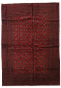 Afghan Tapis 202X283 D'orient Fait Main Rouge Foncé (Laine, Afghanistan)