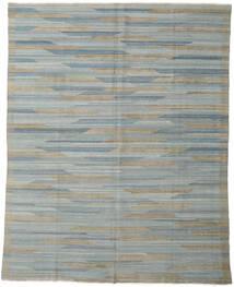 Kilim Moderne Tapis 233X295 Moderne Tissé À La Main Gris Clair/Gris Foncé (Laine, Afghanistan)