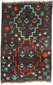 Barchi/Moroccan Berber - Afganistan Tapis 198X303 Moderne Fait Main Noir/Gris Foncé (Laine, Afghanistan)