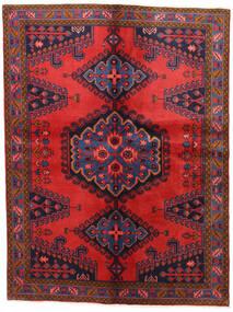 Wiss Tapis 152X202 D'orient Fait Main Violet Foncé/Rouge Foncé (Laine, Perse/Iran)
