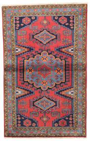 Wiss Tapis 93X155 D'orient Fait Main Violet Foncé/Marron (Laine, Perse/Iran)