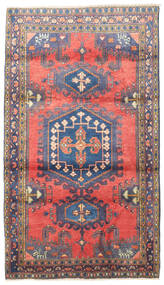 Wiss Tapis 110X190 D'orient Fait Main Noir/Violet Clair (Laine, Perse/Iran)
