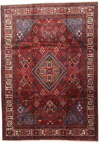 Joshaghan Tapis 235X330 D'orient Fait Main Rouge Foncé/Marron Foncé (Laine, Perse/Iran)
