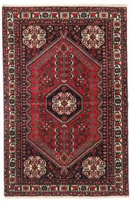 Abadeh Tapis 100X150 D'orient Fait Main Rouge Foncé/Noir (Laine, Perse/Iran)