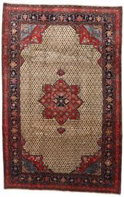 Songhor Tapis 206X322 D'orient Fait Main Marron Clair/Noir (Laine, Perse/Iran)