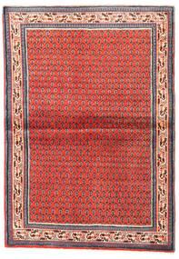 Sarough Mir Tapis 108X155 D'orient Fait Main Rouge Foncé/Rouge (Laine, Perse/Iran)