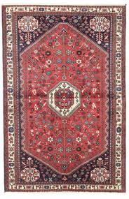 Abadeh Tapis 98X150 D'orient Fait Main Rouge Foncé/Marron Foncé (Laine, Perse/Iran)