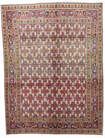 Wiss Tapis 133X175 D'orient Fait Main Marron Clair/Gris Foncé (Laine, Perse/Iran)