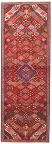 Joshaghan Tapis 102X293 D'orient Fait Main Tapis Couloir Rouge Foncé/Rouille/Rouge (Laine, Perse/Iran)