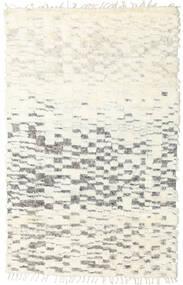 Barchi/Moroccan Berber - Indo Tapis 152X241 Moderne Fait Main Beige/Gris Clair (Laine, Inde)