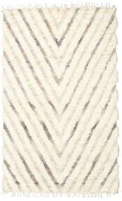 Barchi/Moroccan Berber - Indo Tapis 154X250 Moderne Fait Main Beige/Blanc/Crème (Laine, Inde)