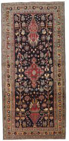 Ardabil Patina Tapis 133X284 D'orient Fait Main Tapis Couloir Marron Foncé/Rouge Foncé (Laine, Perse/Iran)