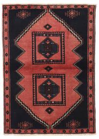 Kelardasht Tapis 103X149 D'orient Fait Main Noir/Rouge Foncé (Laine, Perse/Iran)