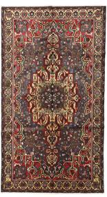 Bakhtiar Tapis 165X295 D'orient Fait Main Tapis Couloir Marron Foncé/Noir (Laine, Perse/Iran)