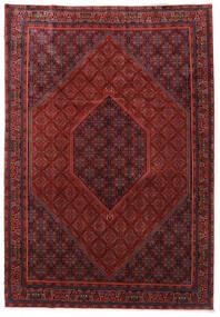 Bidjar Zanjan Tapis 253X365 D'orient Fait Main Rouge Foncé/Noir Grand (Laine, Perse/Iran)