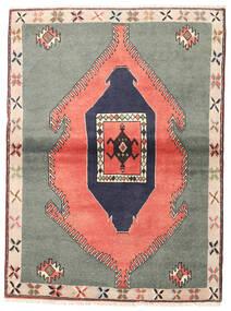 Kelardasht Tapis 105X140 D'orient Fait Main Gris Foncé/Rose Clair (Laine, Perse/Iran)
