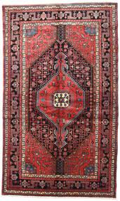 Nahavand Tapis 150X245 D'orient Fait Main Marron Foncé/Rouge Foncé (Laine, Perse/Iran)