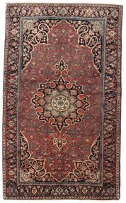 Bidjar Tapis 129X212 D'orient Fait Main Rouge Foncé/Marron Foncé (Laine, Perse/Iran)