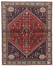 Abadeh Tapis 100X128 D'orient Fait Main Marron Foncé/Rouge Foncé (Laine, Perse/Iran)
