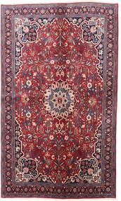 Bidjar Tapis 130X220 D'orient Fait Main Violet Foncé/Rouge (Laine, Perse/Iran)