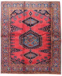 Wiss Tapis 188X225 D'orient Fait Main Marron/Noir (Laine, Perse/Iran)