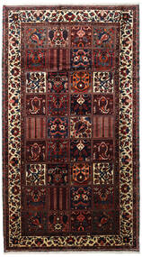 Bakhtiar Tapis 173X315 D'orient Fait Main Tapis Couloir Marron Foncé/Rouge Foncé (Laine, Perse/Iran)