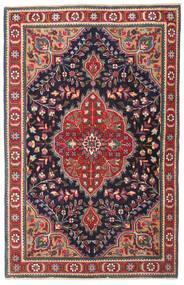 Tabriz Patina Tapis 98X150 D'orient Fait Main Gris Foncé/Rouge Foncé (Laine, Perse/Iran)