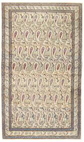 Kerman Patina Tapis 85X147 D'orient Fait Main Beige/Gris Clair (Laine, Perse/Iran)
