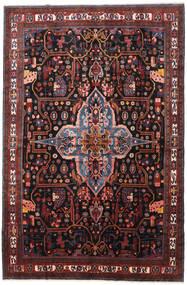 Nahavand Tapis 277X420 D'orient Fait Main Rouge Foncé/Marron Foncé Grand (Laine, Perse/Iran)