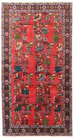 Ardabil Tapis 139X256 D'orient Fait Main Marron Foncé/Rouge (Laine, Perse/Iran)