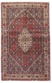 Bidjar Tapis 90X143 D'orient Fait Main Rouge Foncé/Marron Foncé (Laine, Perse/Iran)