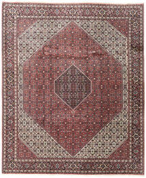 Bidjar Tapis 248X296 D'orient Fait Main Marron Foncé/Rouge Foncé (Laine, Perse/Iran)