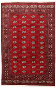 Pakistan Boukhara 2Ply Tapis 202X312 D'orient Fait Main Rouge/Rouge Foncé (Laine, Pakistan)