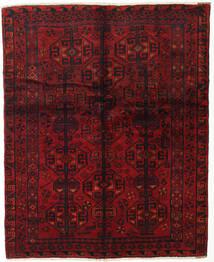 Lori Tapis 155X190 D'orient Fait Main Rouge Foncé/Marron Foncé (Laine, Perse/Iran)