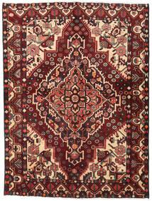 Bakhtiar Tapis 156X207 D'orient Fait Main Rouge Foncé/Marron Foncé (Laine, Perse/Iran)