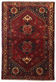 Ghashghaï Tapis 113X166 D'orient Fait Main Rouge Foncé/Marron Foncé (Laine, Perse/Iran)