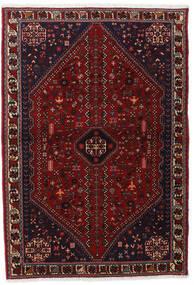 Abadeh Tapis 102X150 D'orient Fait Main Rouge Foncé (Laine, Perse/Iran)