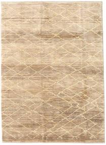 Loribaft Persan Tapis 173X235 Moderne Fait Main Beige/Marron Clair (Laine, Perse/Iran)