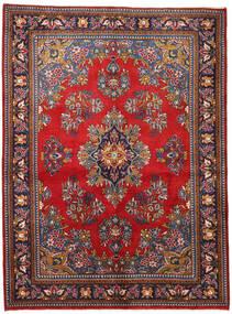 Wiss Tapis 165X225 D'orient Fait Main Violet Foncé/Rouge Foncé (Laine, Perse/Iran)