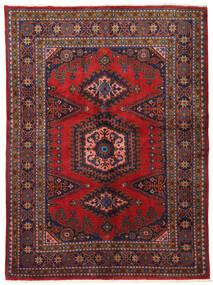 Wiss Tapis 162X220 D'orient Fait Main Rouge Foncé/Violet Foncé (Laine, Perse/Iran)