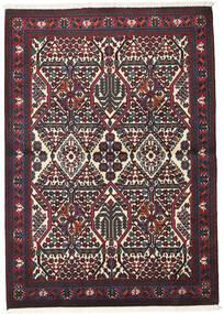 Meimeh Tapis 110X156 D'orient Fait Main Rouge Foncé/Noir (Laine, Perse/Iran)