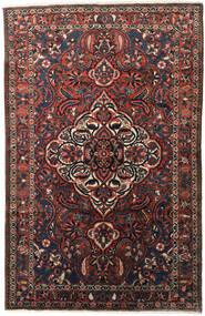 Bakhtiar Tapis 155X245 D'orient Fait Main Marron Foncé/Rouge Foncé (Laine, Perse/Iran)