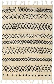 Beni Berber Tapis 180X275 Moderne Fait Main Beige/Gris Foncé (Laine, Inde)